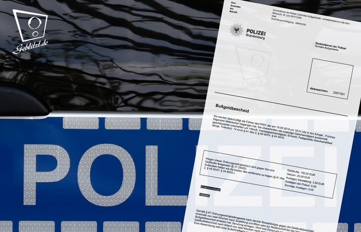 Geblitzt.de warnt: Online verschickte Bußgeldbescheide sind ein gefährlicher Fake