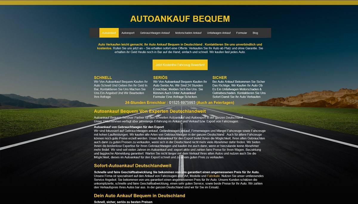 Autoankauf-bequem Baden Baden