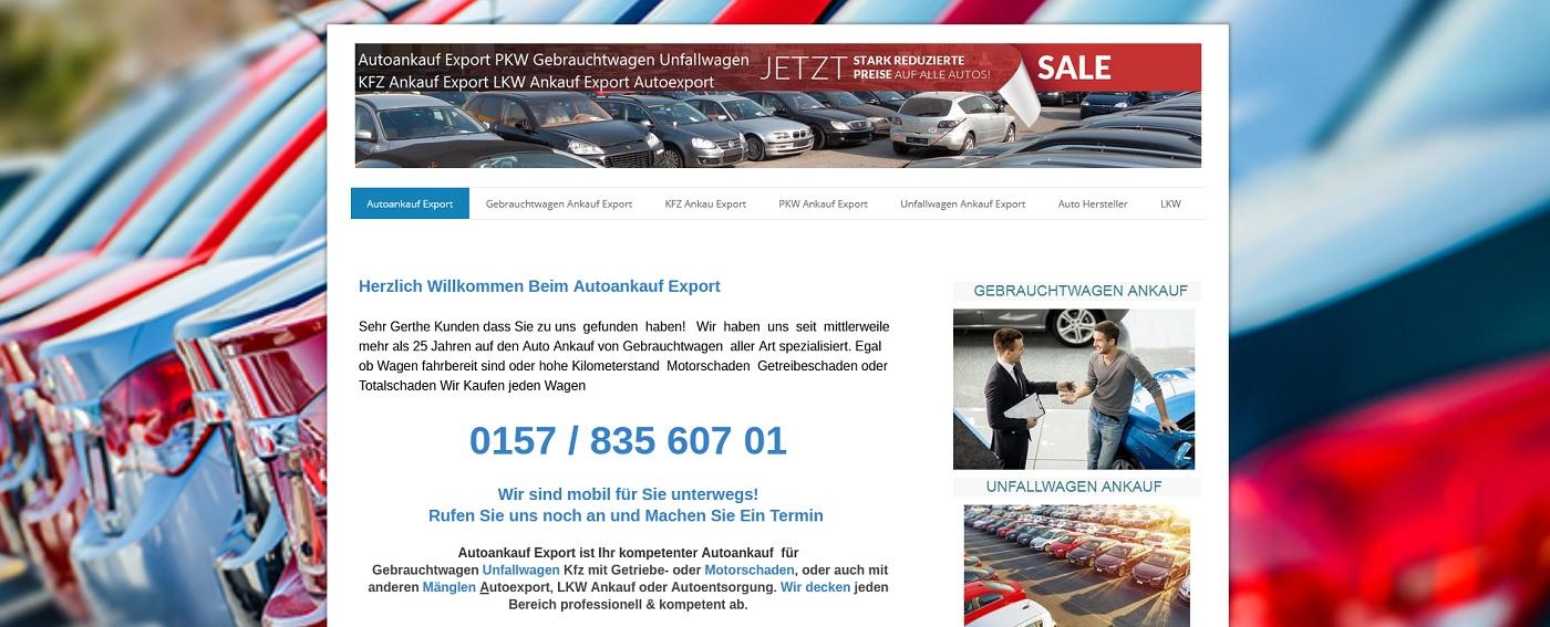 auto-ankauf-exports.de - Autoankauf Dortmund