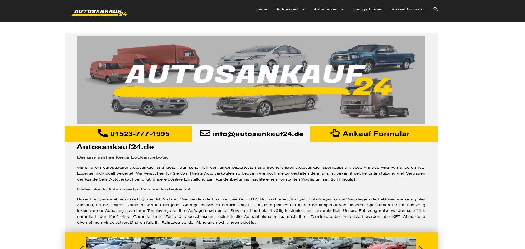 autosankauf24.de Autoankauf Offenbach am Main