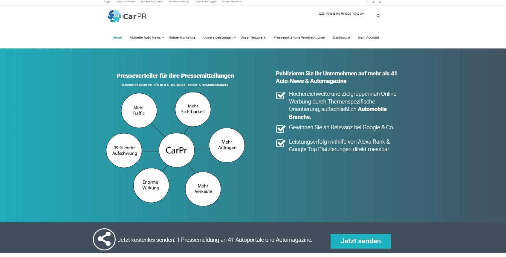 Web Marketing für Autohäuser